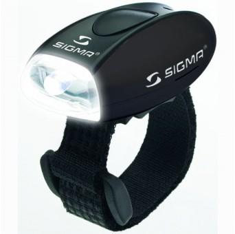 Белый передний фонарь Sigma Micro